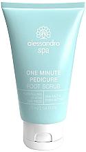 Perfumería y cosmética Exfoliante de pies con sal marina y karité - Alessandro International Spa One Minute Pedicure Foot Scrub