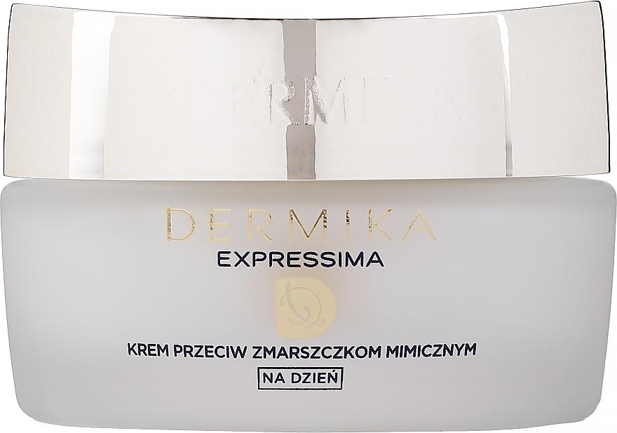Crema de día hidratante con aceite de abisinio - Dermika Expressima Face Cream — imagen N1