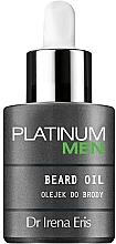 Perfumería y cosmética Aceite de barba - Dr Irena Eris Platinum Men Beard Oil