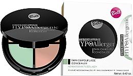 Perfumería y cosmética Corrector facial hipoalergénico - Bell Hypoallergenic Skin Camouflage Concealer