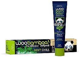Perfumería y cosmética Pasta dental infantil con menta y fluoruro - Woobamboo Mint Chill Toothpaste With Fluoride