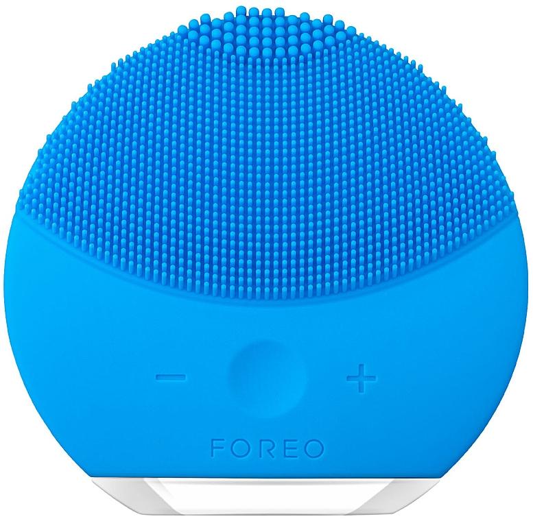 Cepillo de limpieza facial y masaje relajante - Foreo Luna Mini 2 Aquamarine