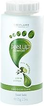 Perfumería y cosmética Desodorante talco para pies con aroma a lima y algodón - Oriflame Feet Up Comfort