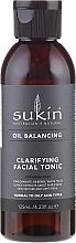 Perfumería y cosmética Tónico facial limpiador con aceite de lavanda y extractos de camomila y pepino - Sukin Oil Balancing Clarifying Facial Tonic