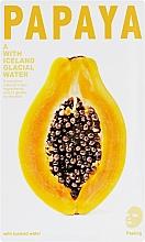 Perfumería y cosmética Mascarilla peeling facial impregnada con extracto de papaya & guayaba - The Iceland Papaya Mask