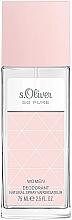 Perfumería y cosmética S.Oliver So Pure Women - Desodorante natural perfumado