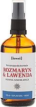 Perfumería y cosmética Aceite para cabello de romero y lavanda - Iossi