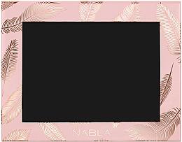 Perfumería y cosmética Paleta magnética vacía, rosa - Nabla Liberty Six Customizable Palette