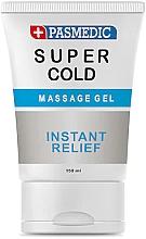 Perfumería y cosmética Gel de masaje corporal frío con chilli y mentol - Pasmedic Super Cold Massage Gel