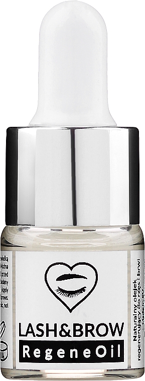 Aceite natural para cejas y pestañas hipoalergénico con ricina y extracto de avena - Lash Brow RegeneOil