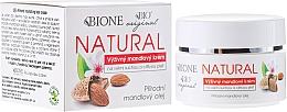 Perfumería y cosmética Crema facial con aceites de coco y almendras - Bione Cosmetics Cream For Very Dry And Sensitive Skin