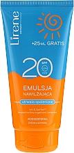 Perfumería y cosmética Emulsión protectora solar hidratante y resistente al agua SPF20 - Lirene Sun Care Emulsion SPF20