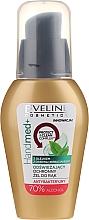 Perfumería y cosmética Gel antibacterial de manos con aceite de árbol de té, 70% alcohol - Eveline Cosmetics Handmed+, 70% Alcohol