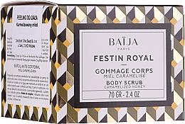 Perfumería y cosmética Exfoliante corporal de azúcar mecánico con extracto natural de miel - Baija Festin Royal Body Scrub