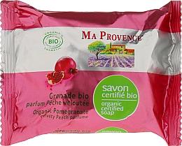 Perfumería y cosmética Jabón orgánico con aroma a granada - Ma Provence Organic Soap