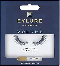 Perfumería y cosmética Pestañas postizas con pegamento inluido - Eylure Pre-Glued Accents Lash №005