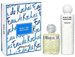 Perfumería y cosmética Rochas Eau De Rochas - Set (eau de toilette/220ml + loción corporal/500ml)