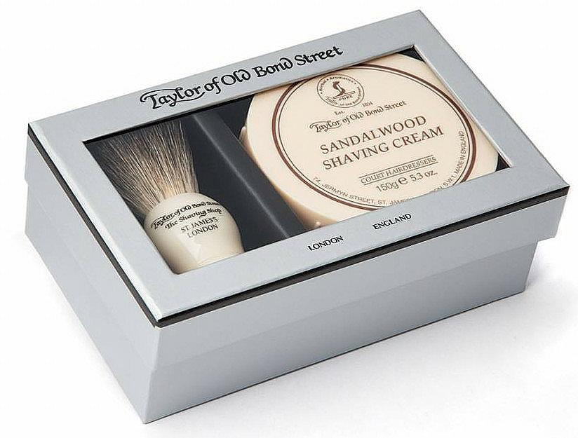 Set para afeitado (brocha de afeitar + crema/150g) - Taylor of Old Bond Street