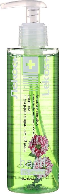 Gel de manos antibacteriano con extracto de verbena - Markell Cosmetics Lekos+