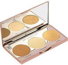 Perfumería y cosmética Paleta de maquillaje con espejo (contorno, iluminador y brillo) - Sosu by SJ The Ultimate Trio