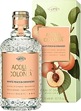 Perfumería y cosmética Maurer & Wirtz 4711 Acqua Colonia White Peach & Coriander - Agua de colonia