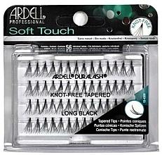 Perfumería y cosmética Pestañas postizas individuales - Ardell Soft Touch Long Black
