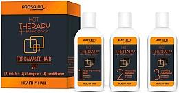 Perfumería y cosmética Set para cabello (mascarilla/50ml + champú/50ml + acondicionador/50ml) - Prosalon Hot Therapy