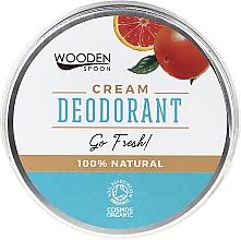 Perfumería y cosmética Crema desodorante natural - Wooden Spoon Go Fresh Cream Deodorant