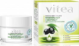 Perfumería y cosmética Crema facial con oliva & colágeno - Vitea Regenerating and Nourishing Face Cream
