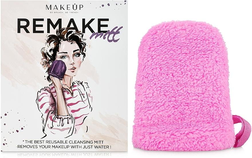 "Guante desmaquillante, rosa ""ReMake"" - MakeUp"