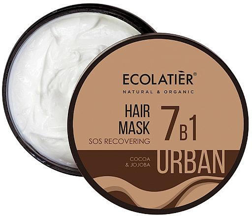 Mascarilla capilar reparadora con cacao y jojoba - Ecolatier Urban Hair Mask