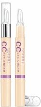 Perfumería y cosmética Corrector en crema para contorno de ojos - Bourjois 123 Perfect CC Eye Cream