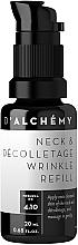 Perfumería y cosmética Tratamiento antiarrugas para cuello y escote con antioxidantes naturales - D'Alchemy Neck & Decolletage Wrinkle Refill