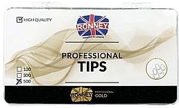 Perfumería y cosmética Tips de manicura, transparentes - Ronney Professional Tips