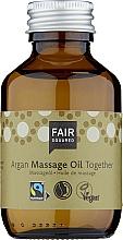 Perfumería y cosmética Aceite corporal de oliva, semilla de albaricoque y almendras - Fair Squared Argan Massage Oil Together
