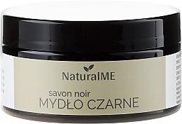Perfumería y cosmética Jabón natural negro a base de agua y olivas - NaturalME Black Soap Savon Noir