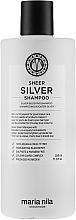 Perfumería y cosmética Champú con extracto de mora anti tonos amarillos 100% vegano - Maria Nila Sheer Silver Shampoo