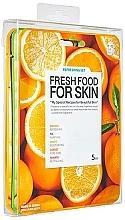 Perfumería y cosmética Set mascarillas faciales de tejido refrescantes - Superfood For Skin Facial Sheet Mask Refreshing Set (5uds.x25ml)