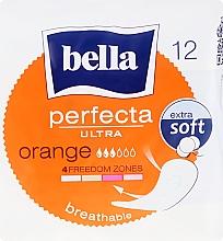 Perfumería y cosmética Compresas sin alas transpirables extra suaves 3 gotas Perfecta Ultra Orange, 12uds. - Bella