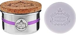 Perfumería y cosmética Jabón con aroma a lavanda - Essencias De Portugal Tradition Aluminum Jewel-Keeper Lavender