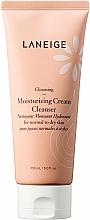 Perfumería y cosmética Crema espumosa de limpieza facial hidratante con glicerina - Laneige Moist Cream Cleanser