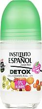 Perfumería y cosmética Desodorante roll-on, sin aluminio - Instituto Español Detox Deodorant Roll-on