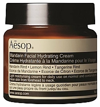 Perfumería y cosmética Crema facial hidratante con aceite de corteza de limón y mandarina - Aesop Mandarin Facial Hydrating Cream