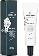 Perfumería y cosmética Crema para el contorno de ojos hidratante y reafirmante - Village 11 Factory Moisture Eye Cream