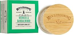 Perfumería y cosmética Jabón de afeitado con vetiver y sándalo - Scottish Fine Soaps Vetiver & Sandalwood Shaving Soap
