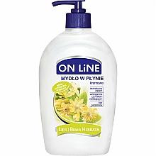 Perfumería y cosmética Jabón de manos líquido de tilo y té blanco, sin parabenos - On Line Liquid Soap