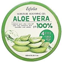 Perfumería y cosmética Gel de aloe vera 100% calmante para rostro y cuerpo sensibles - Esfolio Moisture Soothing Gel Aloe Vera 100% Purity