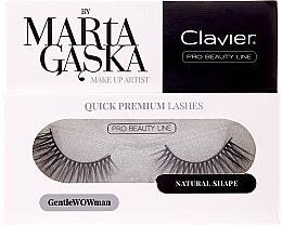 Perfumería y cosmética Pestañas postizas - Clavier Quick Premium Lashes GentleWOWman 803