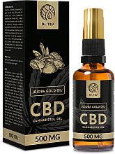 Perfumería y cosmética Aceite de jojoba natural CBD 500mg - Dr. T&J Bio Oil
