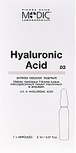 Perfumería y cosmética Ampollas faciales con ácido hialurónico - Pierre Rene Medic Laboratorium Vital Serum